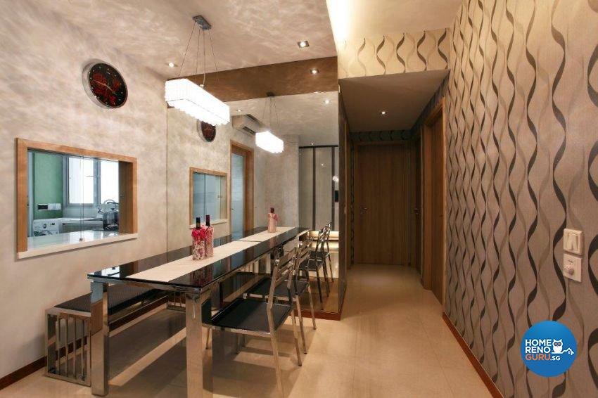Contemporary, Modern Design - Dining Room - Condominium - Design by The Interior Lab Pte Ltd