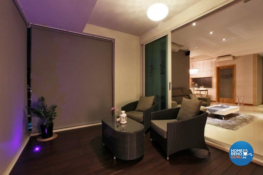 Contemporary, Modern Design - Balcony - Condominium - Design by The Interior Lab Pte Ltd