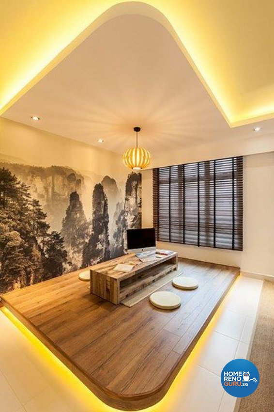 Modern Design - Living Room - HDB Executive Apartment - Design by The Interior Lab Pte Ltd