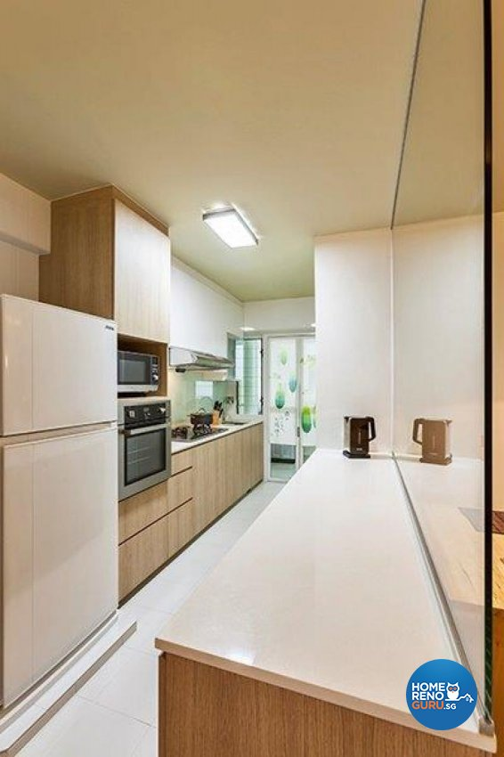 Modern Design - Kitchen - HDB Executive Apartment - Design by The Interior Lab Pte Ltd