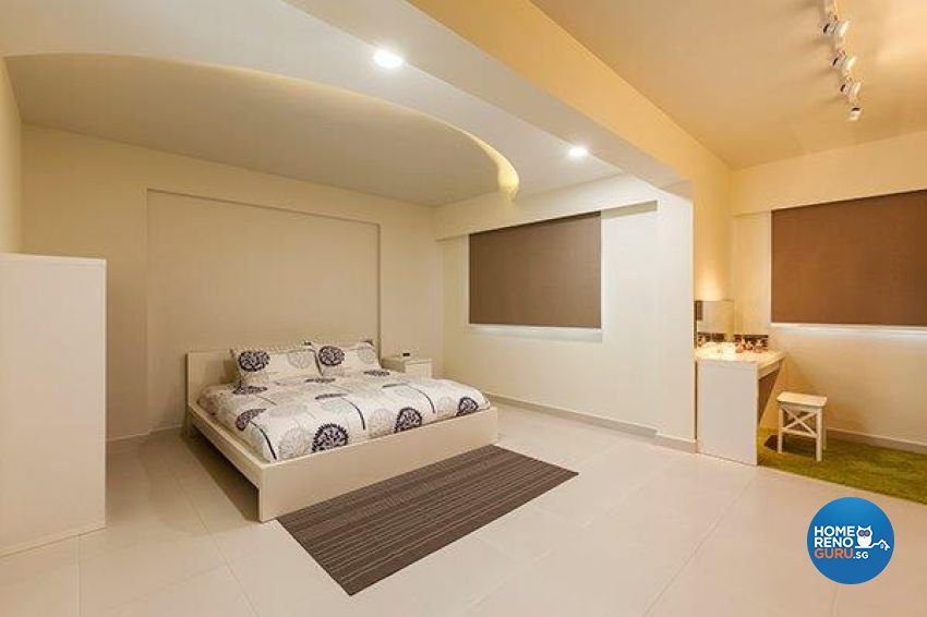 Modern Design - Bedroom - HDB Executive Apartment - Design by The Interior Lab Pte Ltd