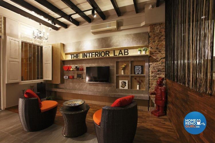 Retro, Rustic Design - Living Room - Office - Design by The Interior Lab Pte Ltd