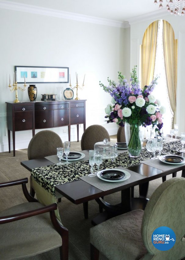 Classical, Modern, Victorian Design - Dining Room - Landed House - Design by The Interior Library