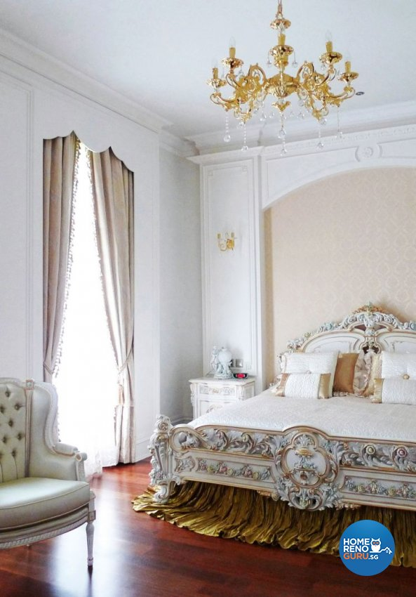 Classical, Modern, Victorian Design - Bedroom - Landed House - Design by The Interior Library