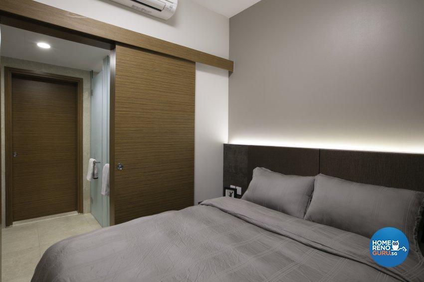 Modern, Rustic Design - Bedroom - Condominium - Design by The Interior Place Pte Ltd
