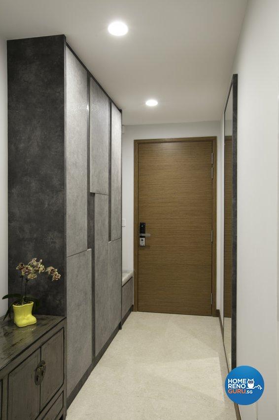 Modern, Rustic Design - Living Room - Condominium - Design by The Interior Place Pte Ltd