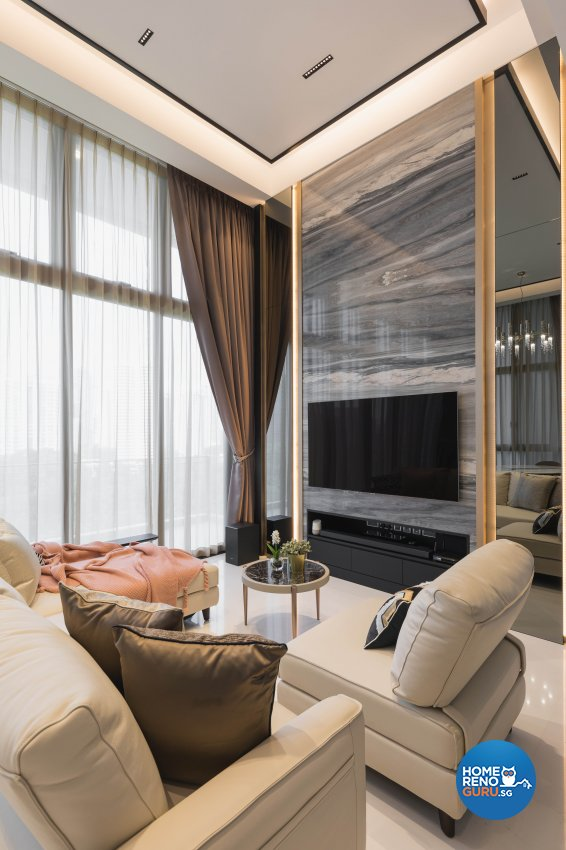 Modern, Others Design - Living Room - Condominium - Design by The Interior Place Pte Ltd