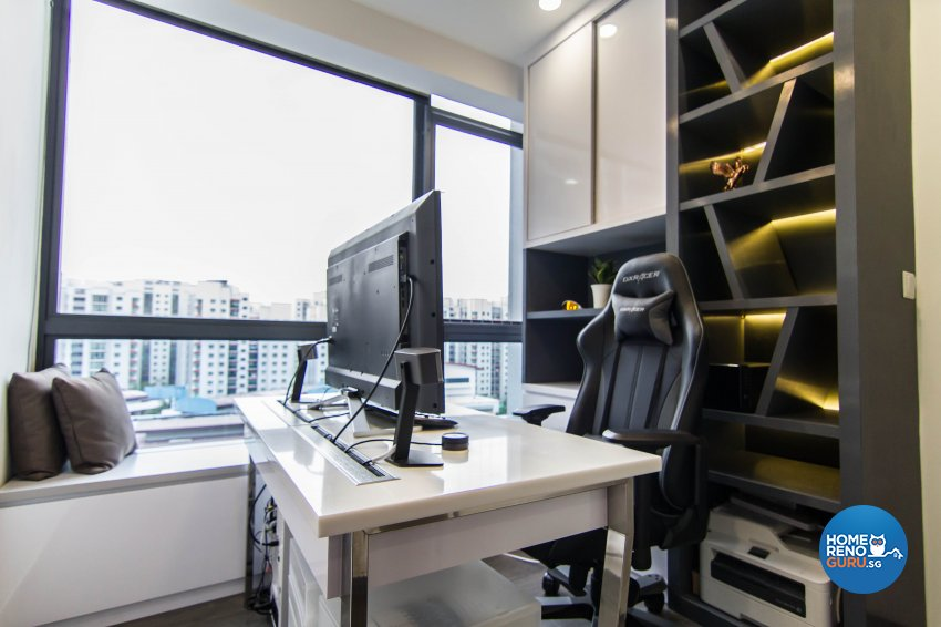 Modern, Victorian Design - Study Room - Condominium - Design by The Interior Place Pte Ltd