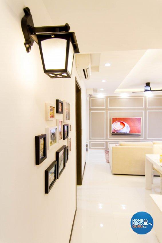 Modern, Victorian Design - Bedroom - Condominium - Design by The Interior Place Pte Ltd