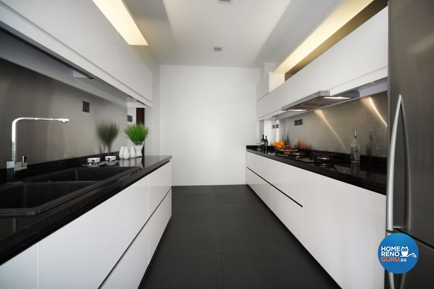 Modern Design - Kitchen - Landed House - Design by The Interior Place Pte Ltd