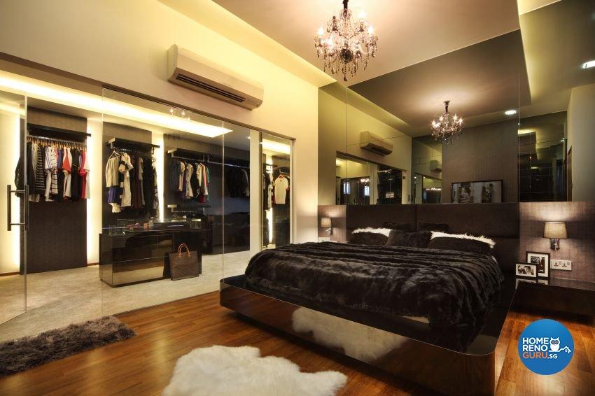 Modern Design - Bedroom - Landed House - Design by The Interior Place Pte Ltd