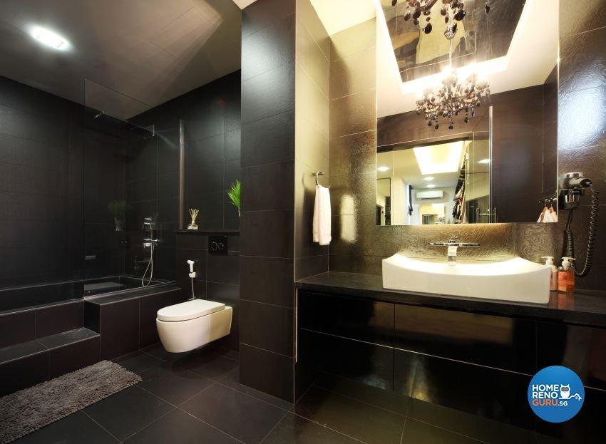 Modern Design - Bathroom - Landed House - Design by The Interior Place Pte Ltd