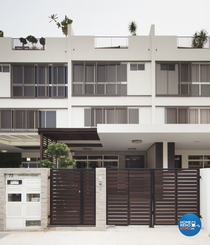 Classical, Modern Design - Balcony - Landed House - Design by The Interior Place Pte Ltd