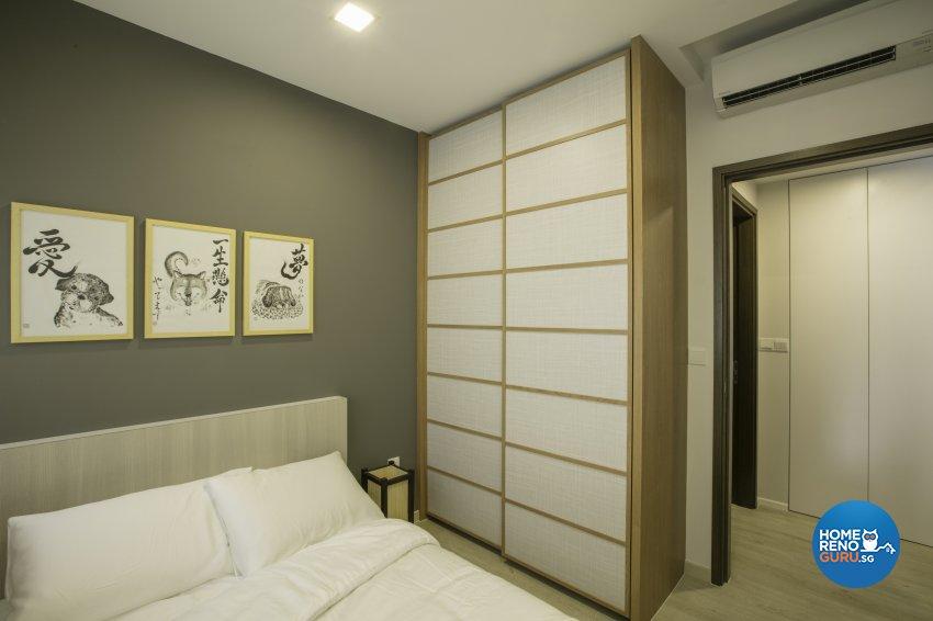 Rustic Design - Bedroom - Condominium - Design by The Interior Place Pte Ltd