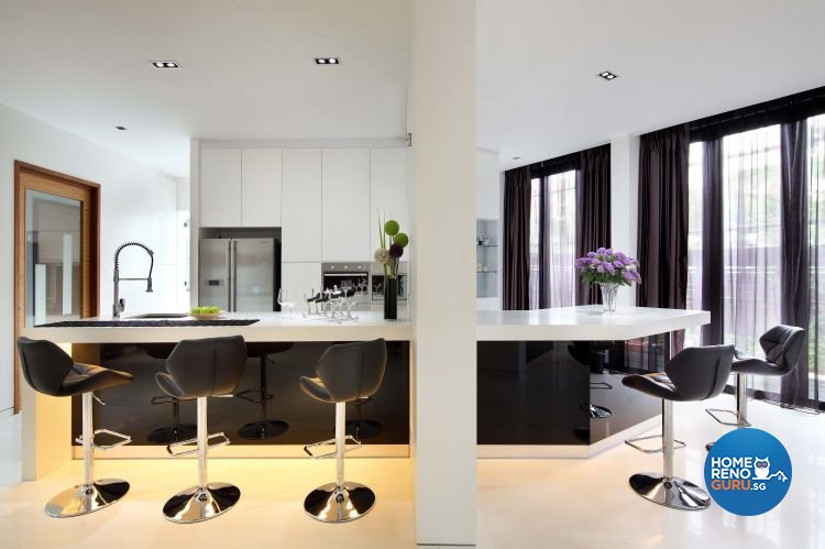 Contemporary, Modern Design - Kitchen - Landed House - Design by The Interior Place Pte Ltd
