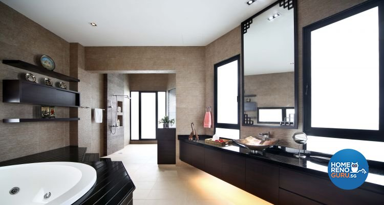 Contemporary, Modern Design - Bathroom - Landed House - Design by The Interior Place Pte Ltd