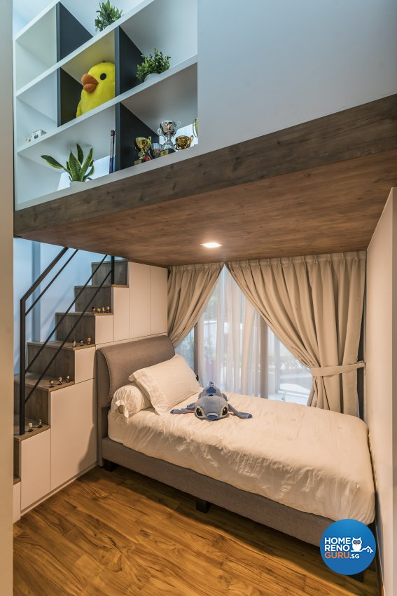 Scandinavian Design - Bedroom - Condominium - Design by The Interior Place Pte Ltd