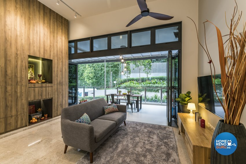 Scandinavian Design - Living Room - Condominium - Design by The Interior Place Pte Ltd