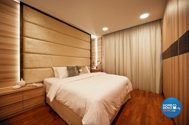 Contemporary, Eclectic, Modern Design - Bedroom - Condominium - Design by The Interior Place Pte Ltd