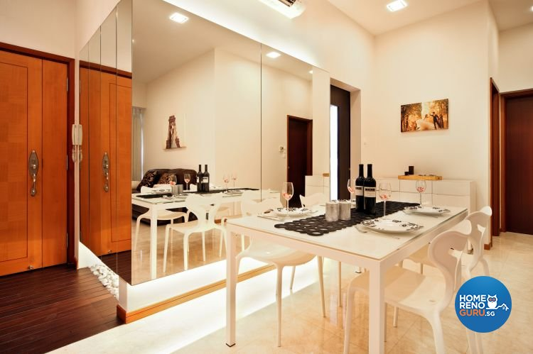 Contemporary, Eclectic, Modern Design - Dining Room - Condominium - Design by The Interior Place Pte Ltd