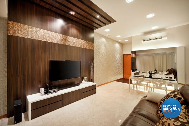 Contemporary, Eclectic, Modern Design - Living Room - Condominium - Design by The Interior Place Pte Ltd