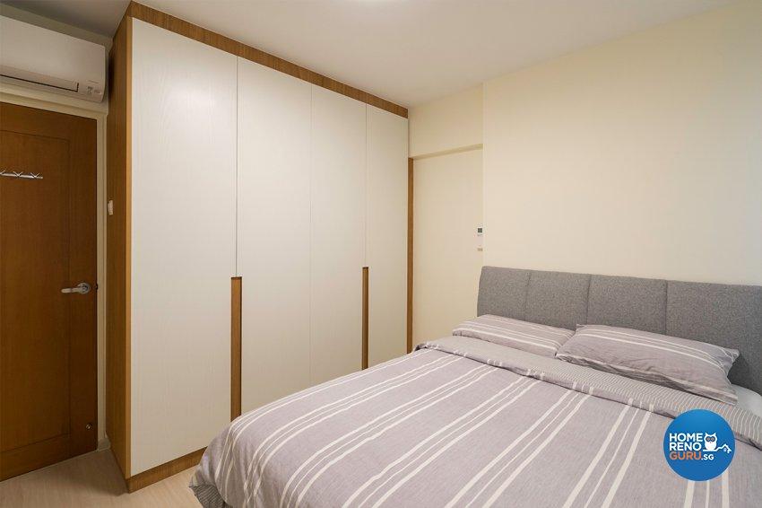 Minimalist, Modern Design - Bedroom - HDB 4 Room - Design by The Interior Place Pte Ltd