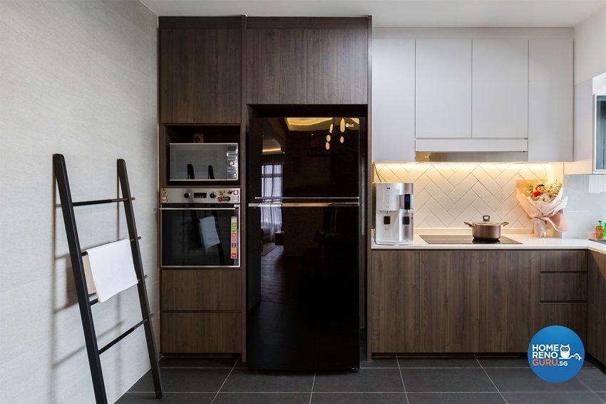 Scandinavian Design - Kitchen - HDB 4 Room - Design by The Interior Place Pte Ltd