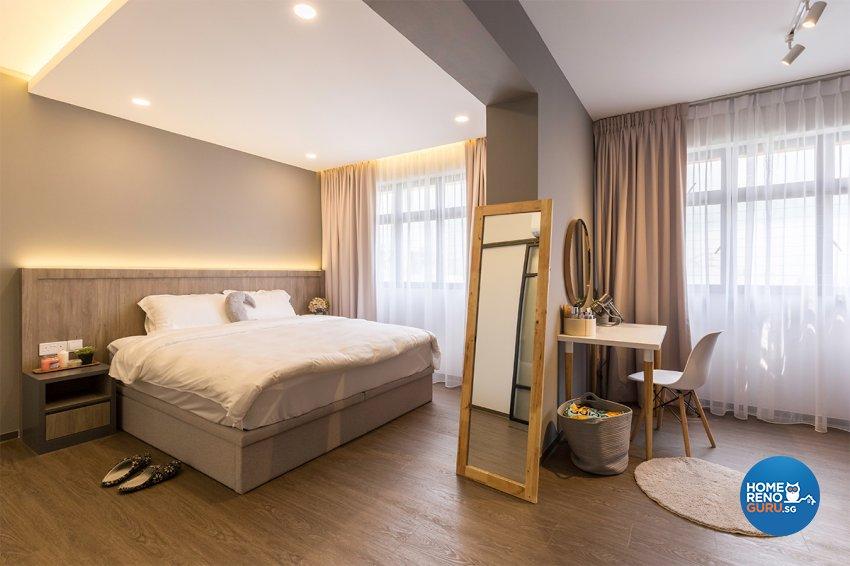 Scandinavian Design - Bedroom - HDB 4 Room - Design by The Interior Place Pte Ltd