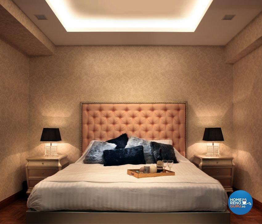 Modern, Victorian Design - Bedroom - Landed House - Design by The Interior Place Pte Ltd