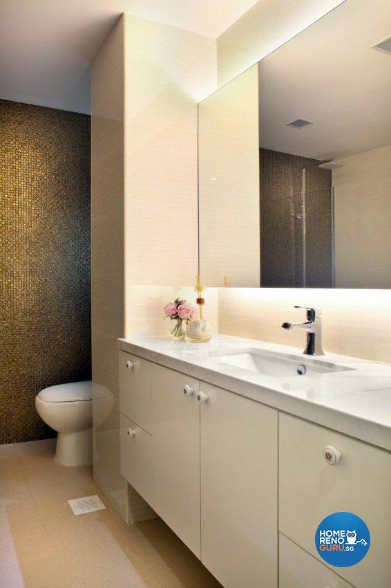 Modern, Victorian Design - Bathroom - Landed House - Design by The Interior Place Pte Ltd