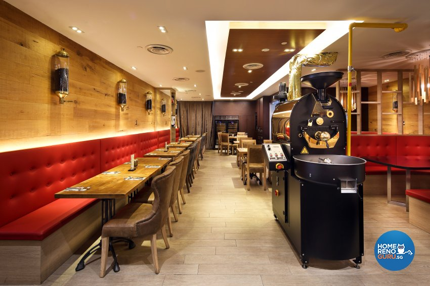 Rustic Design - Commercial - F&B - Design by The Interior Place Pte Ltd