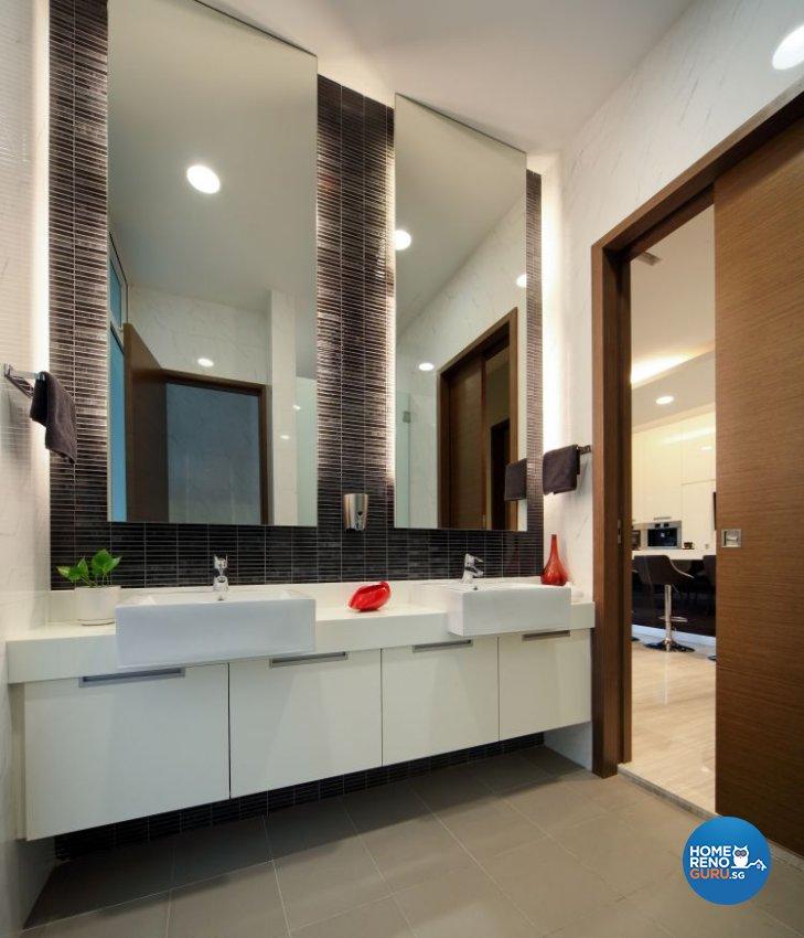 Contemporary, Modern, Resort Design - Bathroom - Landed House - Design by The Interior Place Pte Ltd