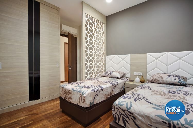 Contemporary, Modern, Resort Design - Bedroom - Landed House - Design by The Interior Place Pte Ltd