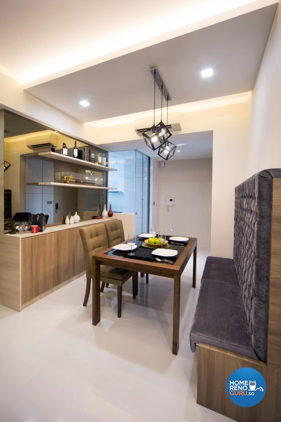 Contemporary, Modern Design - Dining Room - Condominium - Design by The Interior Place Pte Ltd
