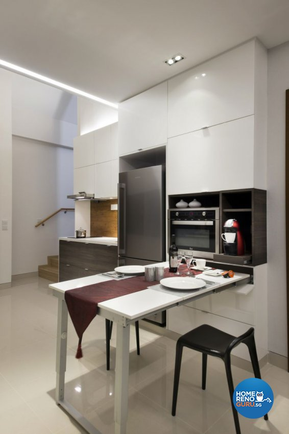 Eclectic, Modern Design - Dining Room - Landed House - Design by The Interior Place Pte Ltd
