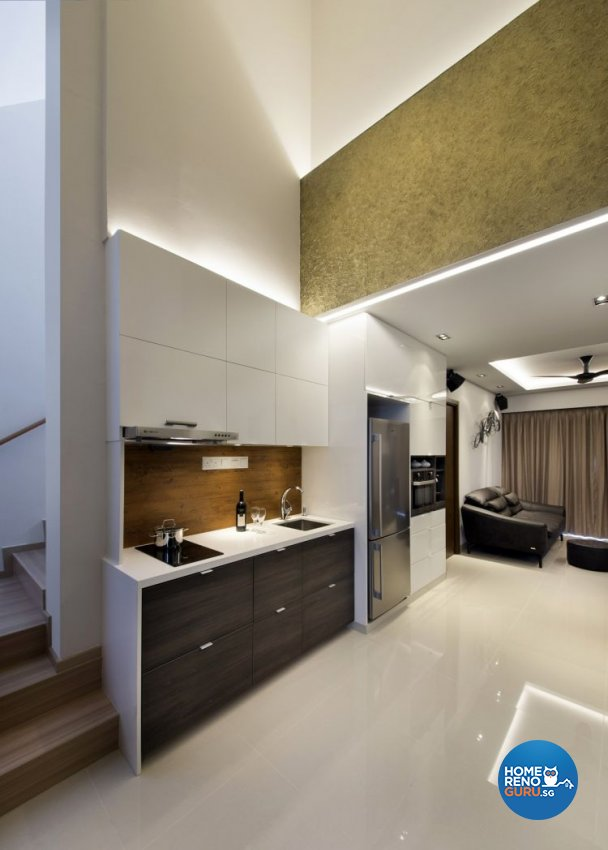 Eclectic, Modern Design - Living Room - Landed House - Design by The Interior Place Pte Ltd