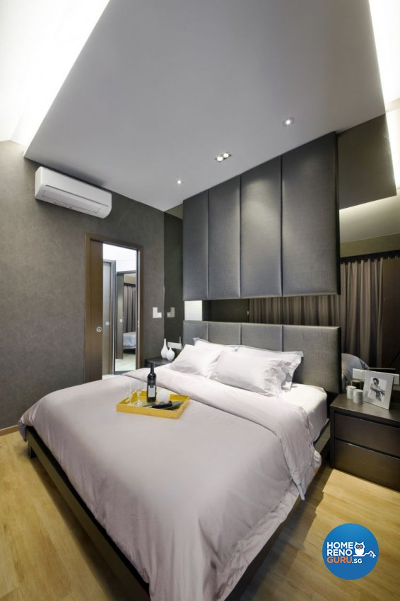 Eclectic, Modern Design - Bedroom - Landed House - Design by The Interior Place Pte Ltd