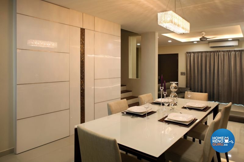Contemporary, Modern Design - Dining Room - Landed House - Design by The Interior Place Pte Ltd