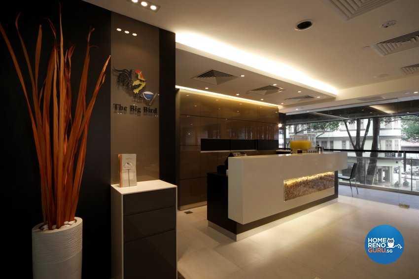 Contemporary Design - Commercial - F&B - Design by The Interior Place Pte Ltd
