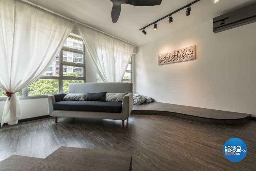 HDB Premium 5-Room BTO - Upper Serangoon Crescent by The Local.Innterior