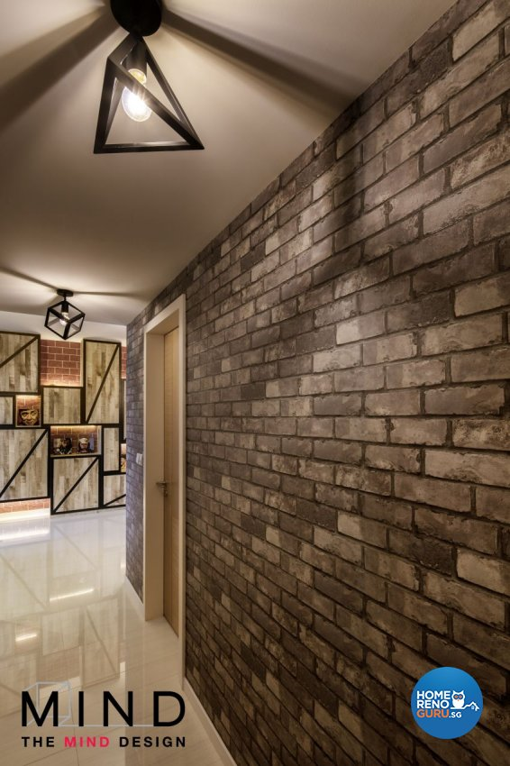 Eclectic, Industrial, Modern Design - Bedroom - Condominium - Design by The Mind Design Pte Ltd