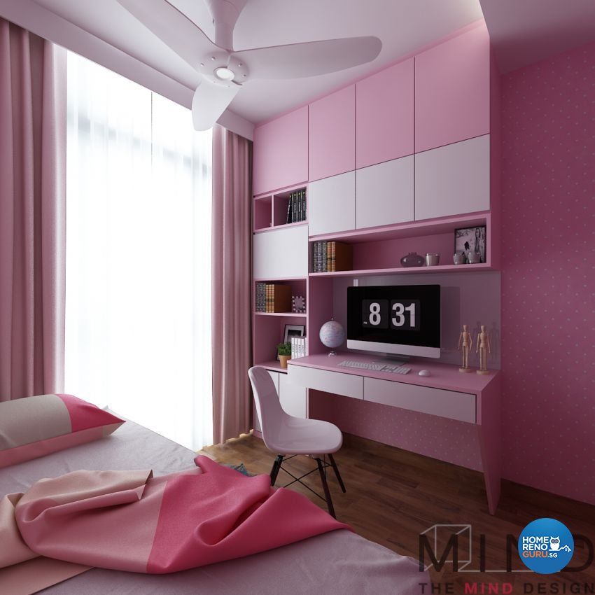 Contemporary, Modern, Scandinavian Design - Bedroom - Condominium - Design by The Mind Design Pte Ltd