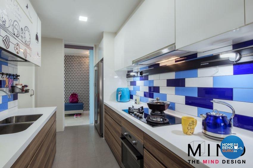 Contemporary, Eclectic, Retro Design - Kitchen - Condominium - Design by The Mind Design Pte Ltd
