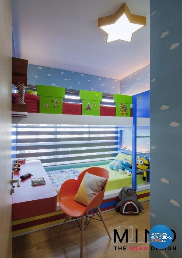 Contemporary, Eclectic, Retro Design - Bedroom - Condominium - Design by The Mind Design Pte Ltd