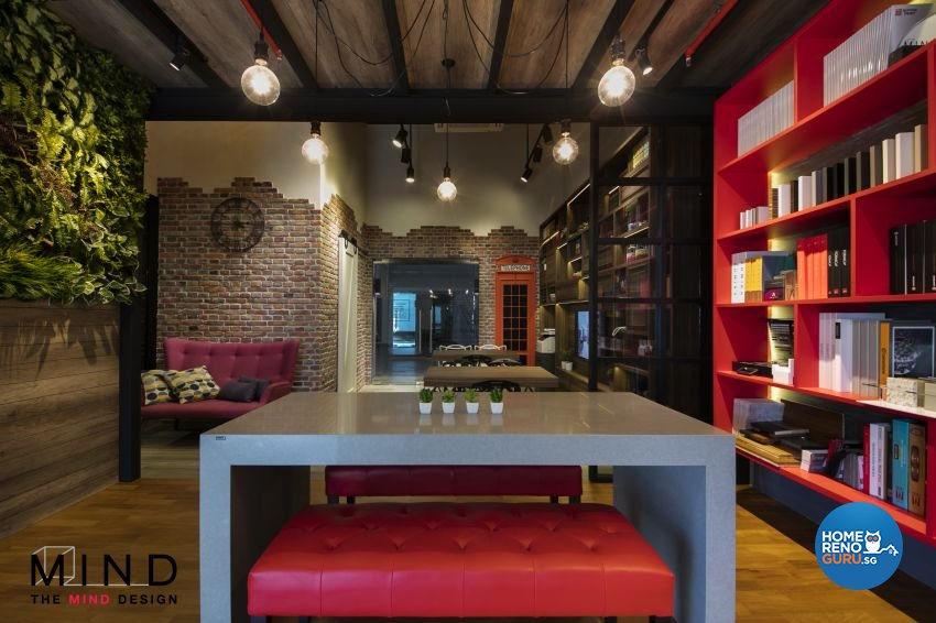 Rustic, Scandinavian Design - Commercial - Office - Design by The Mind Design Pte Ltd