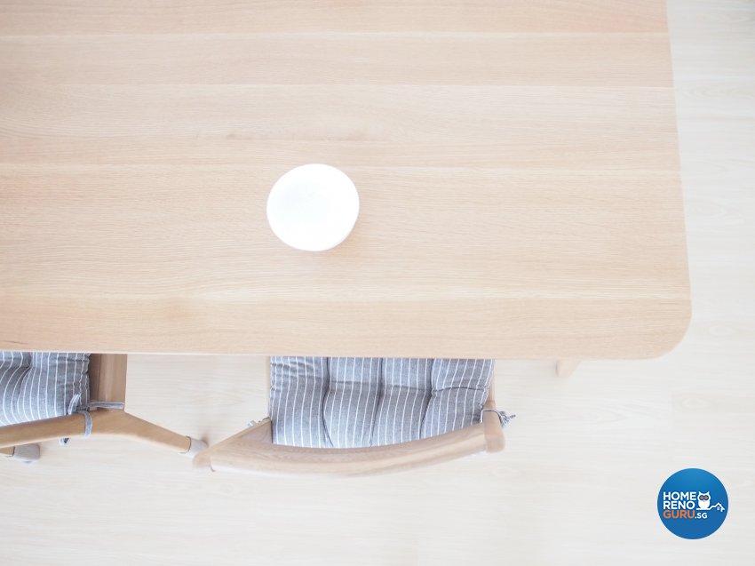Minimalist, Scandinavian Design - Kitchen - HDB 5 Room - Design by The Minimalist Society Pte Ltd
