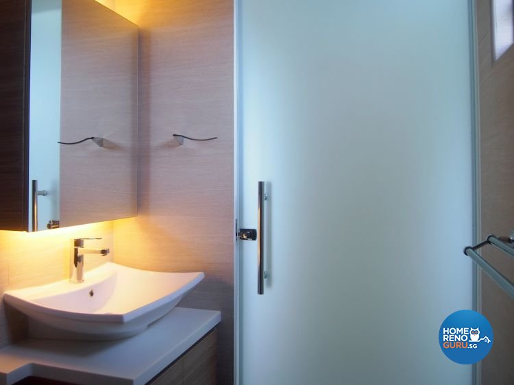 Minimalist, Scandinavian Design - Bathroom - HDB 4 Room - Design by The Minimalist Society Pte Ltd