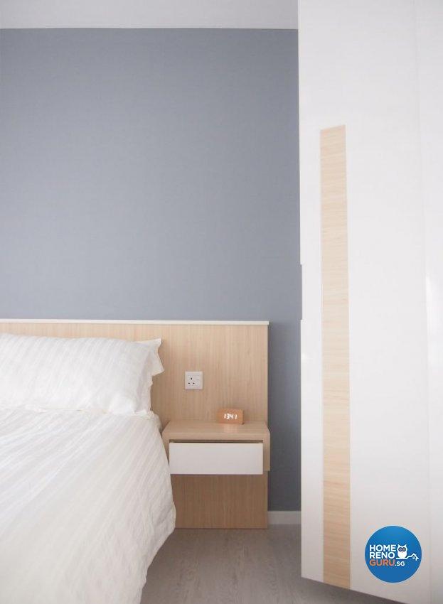 Minimalist, Scandinavian Design - Bedroom - HDB 4 Room - Design by The Minimalist Society Pte Ltd