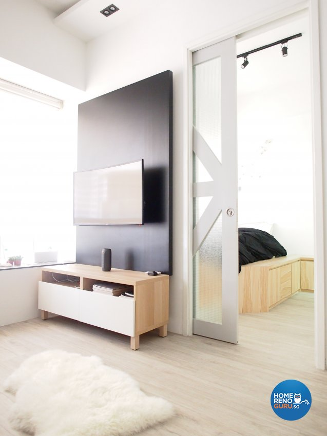 Minimalist, Scandinavian Design - Living Room - Condominium - Design by The Minimalist Society Pte Ltd