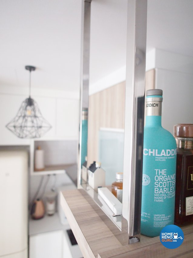 Minimalist, Scandinavian Design - Kitchen - Condominium - Design by The Minimalist Society Pte Ltd